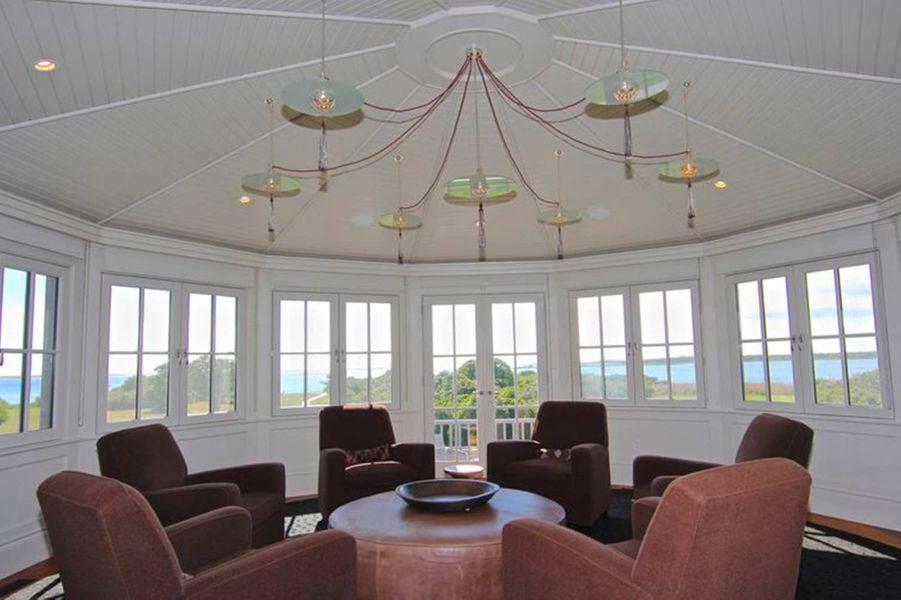 La maison achetée par Barack et Michelle Obama sur Martha's Vineyard.