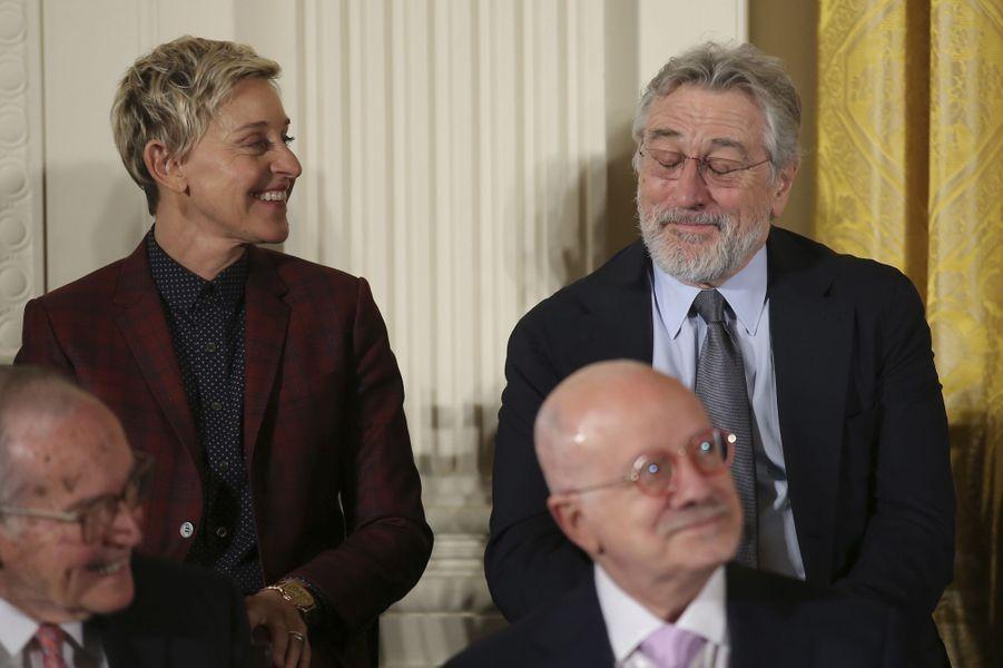 Ellen DeGeneres et Robert De Niro.