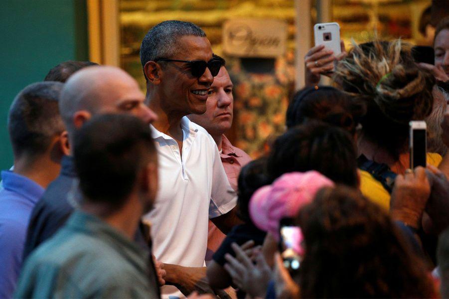 Barack Obama à Hawaï