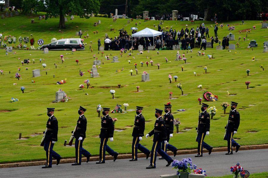 John Lewis a été inhumé à Atlanta, le 30 juillet 2020.