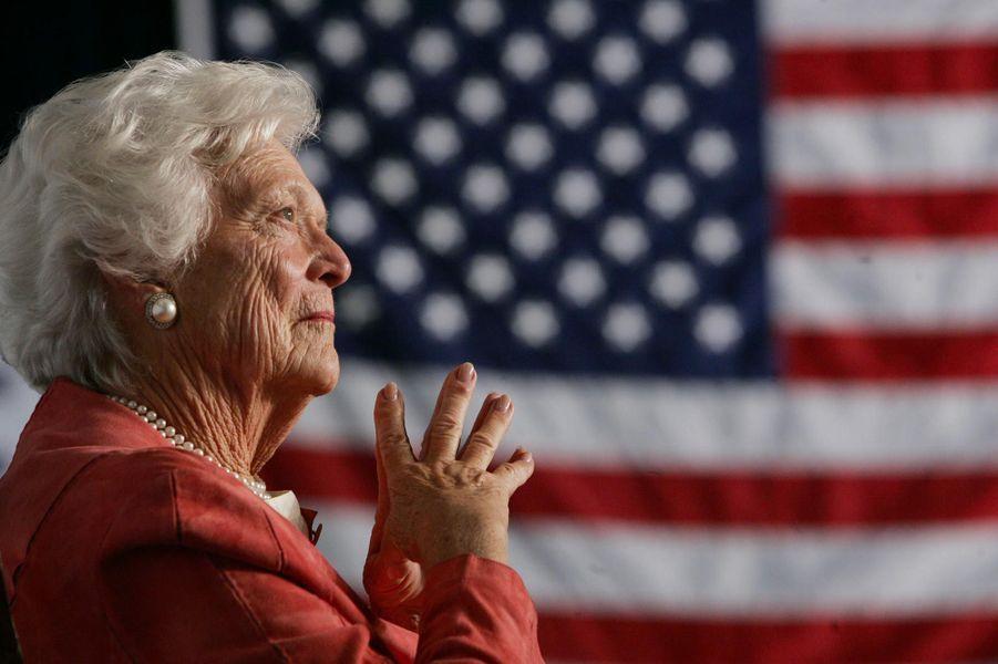 Barbara Bush, en mars 2005.