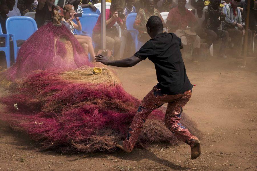 Le 9 janvier, premier jour du 21e Festival du vaudou d'Allada.