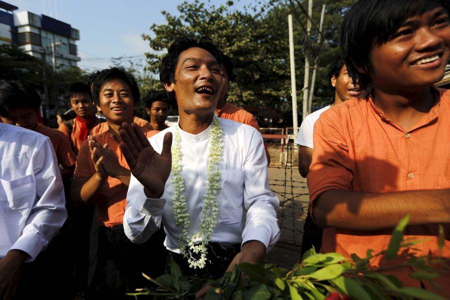 Birmanie: 63 prisonniers politiques libérés