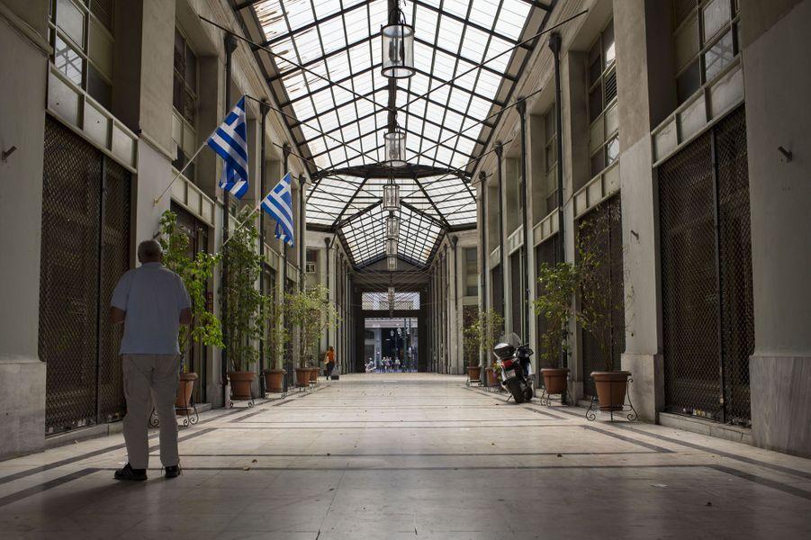 C'était les Champs-Elysées d'Athènes