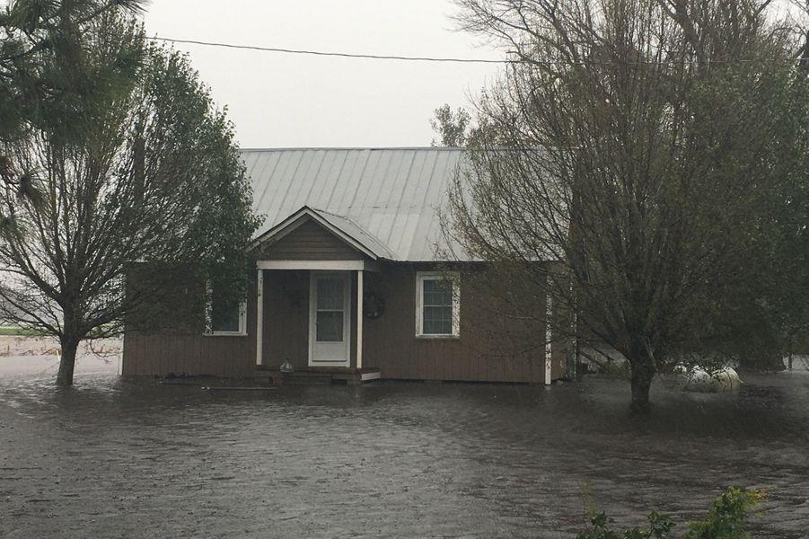 Maison au milieu des eaux
