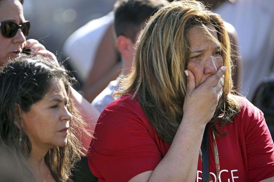 Le lycéeMarjory Stoneman Douglas a plongé dans l'horreur mercredi.