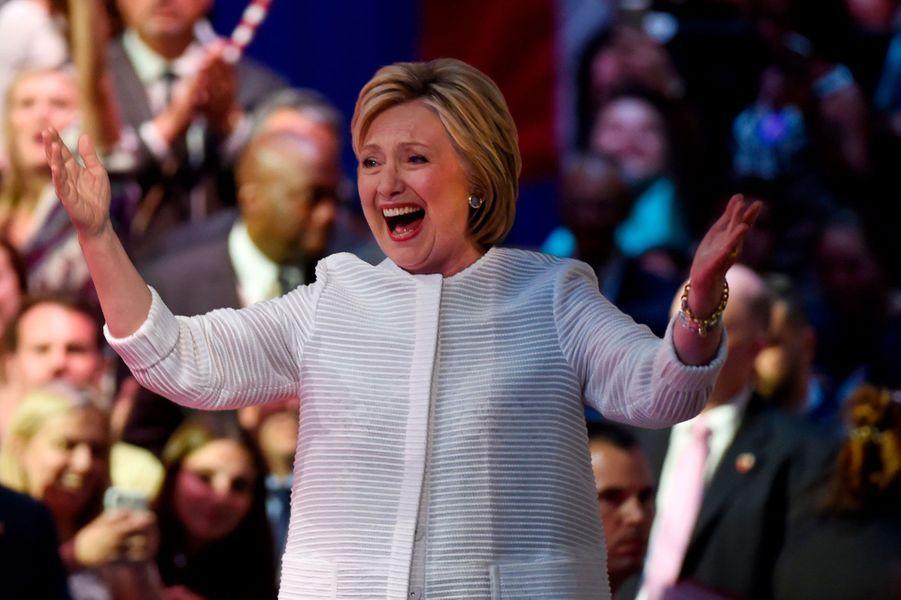Hillary Clinton, candidate démocrate pour l'élection présidentielle américaine 2016