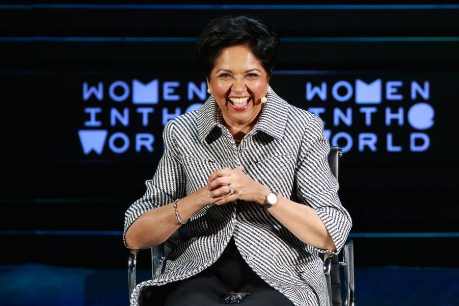 Indra Nooyi, femme d'affaires américaine