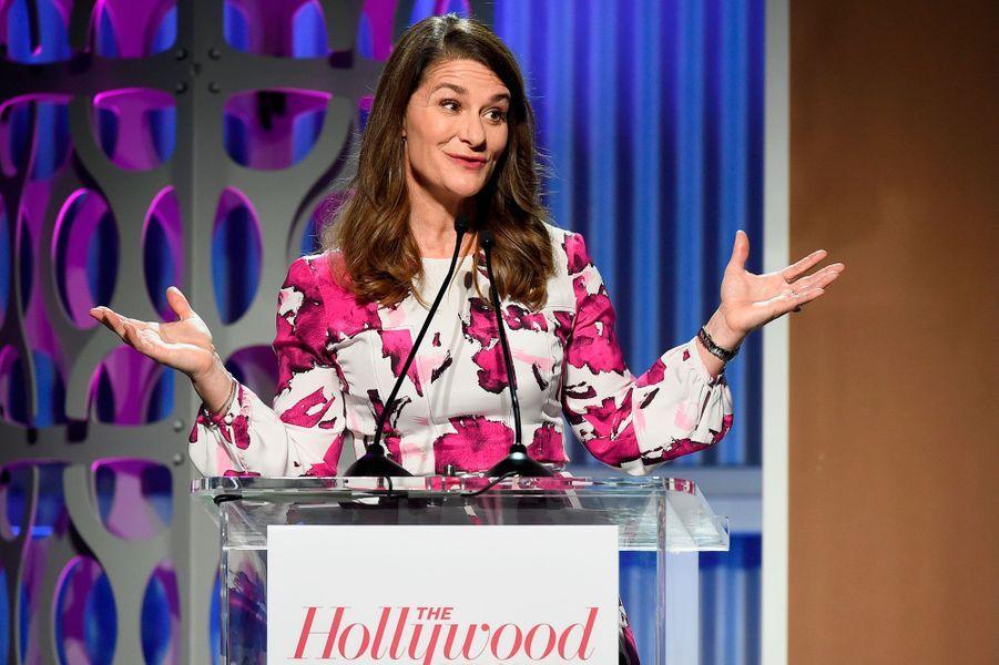 Melinda Gates, philanthrope américaine