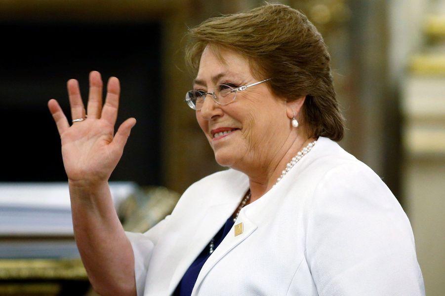 Michelle Bachelet, présidente du Chili