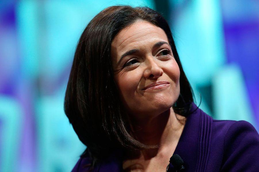 Sheryl Sandberg, directrice des opérations de Facebook