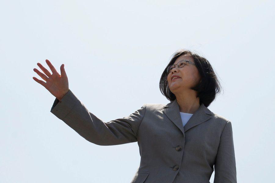 Tsai ing-wen, présidente de Taïwan