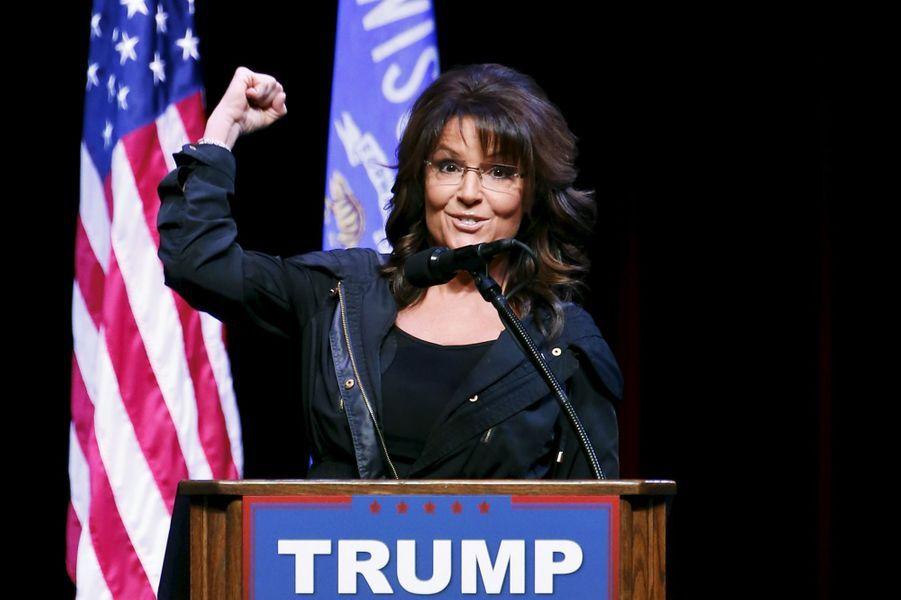 Sarah Palin pourrait être nommée au secrétariat de l'Intérieur de Donald Trump.