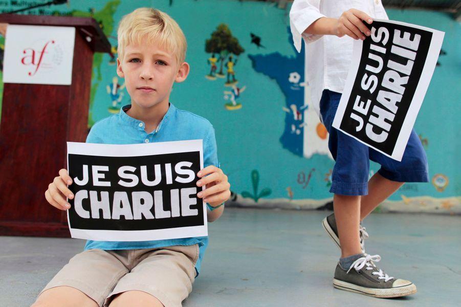 Un jeune garçon français au Nicaragua