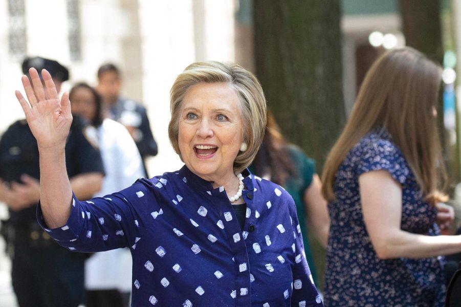 Hillary Clinton à New York, le 25 juillet 2019.