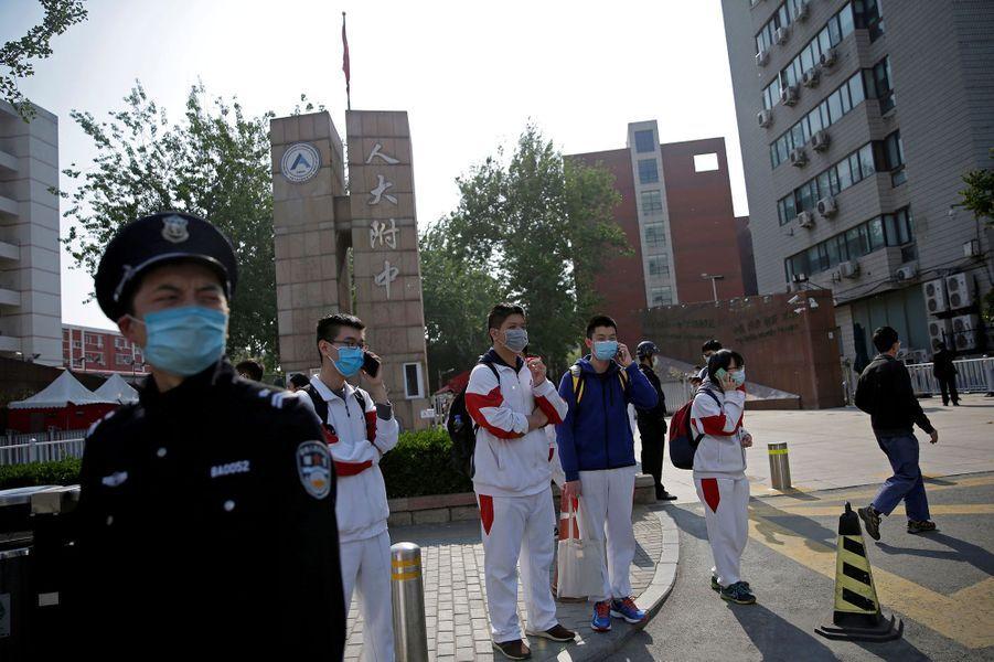 Photo prise à Pékin.