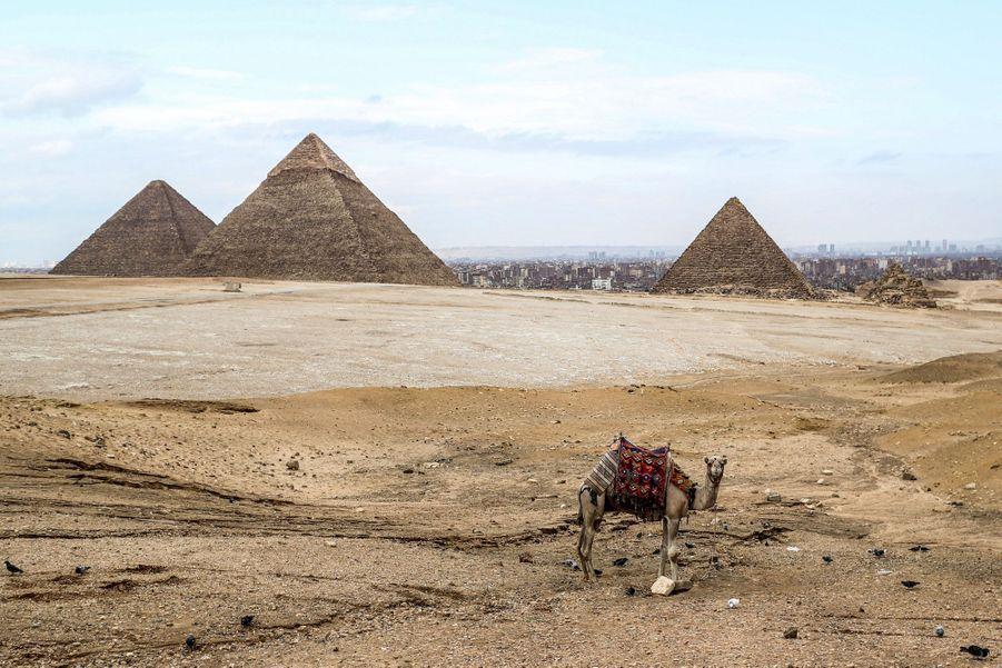 Pyramides de Keops, Egypte.