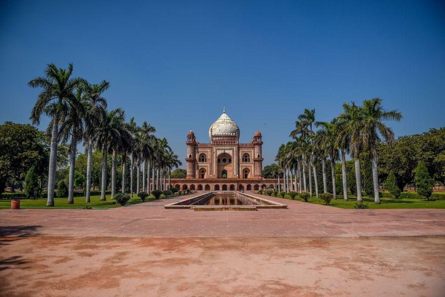Le mausolée de Safdar Jung, New Delhi, Inde.