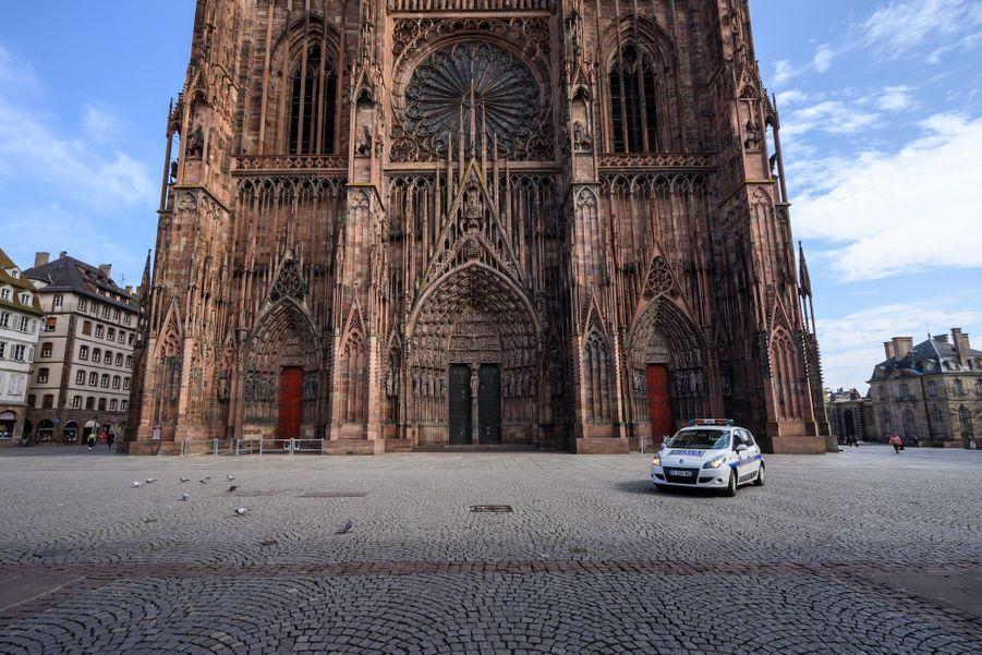 Cathédrale de Strasbourg, France.