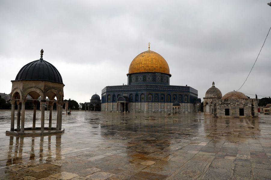 Al-Aqsa, Jérusalem.