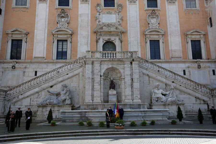 Virginia Raggi, la maire de Rome.