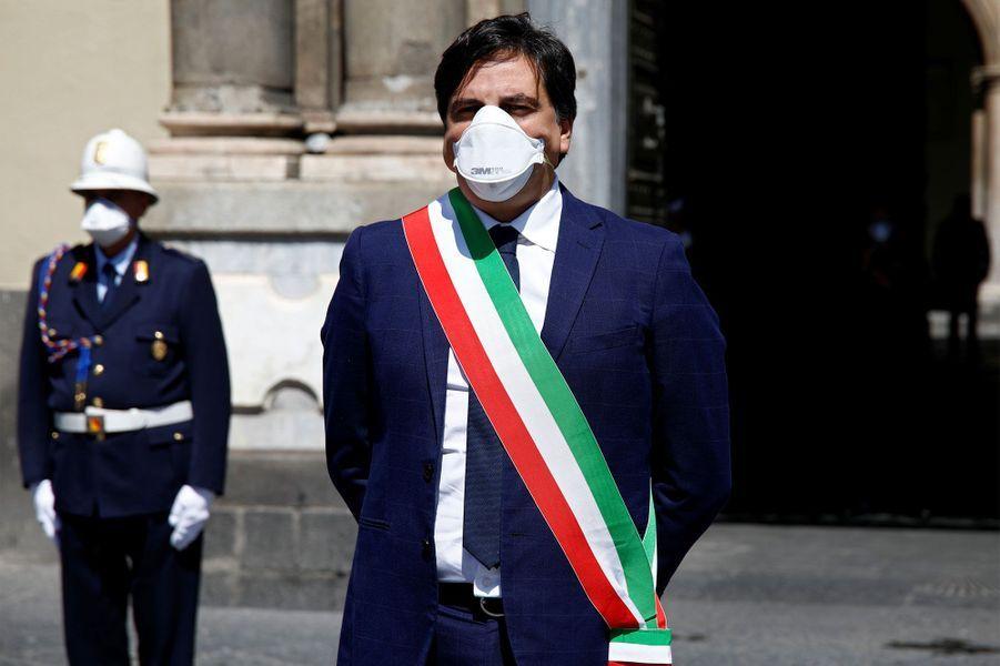 Salvo Pogliese, le maire de Catane