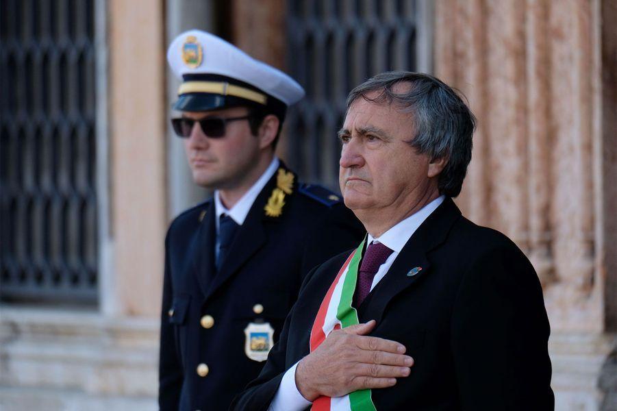 Luigi Brugnaro, le maire de Venise.