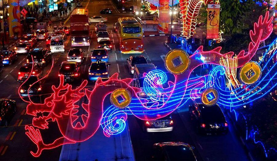 Les congés du Nouvel an sont une période de migration intense, en effet de nombreux chinois vivant à l'étranger s'efforcent de rejoindre leur famille.