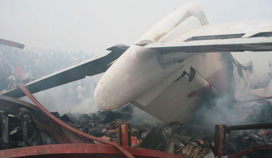 Une aile du Boeing