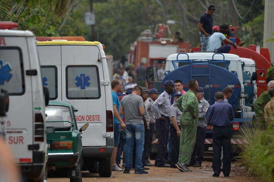 L'avion s'est écrasé peu après son décollage de La Havane vendredi
