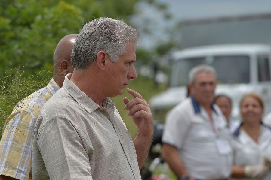 Le président cubainMiguel Diaz-Canel