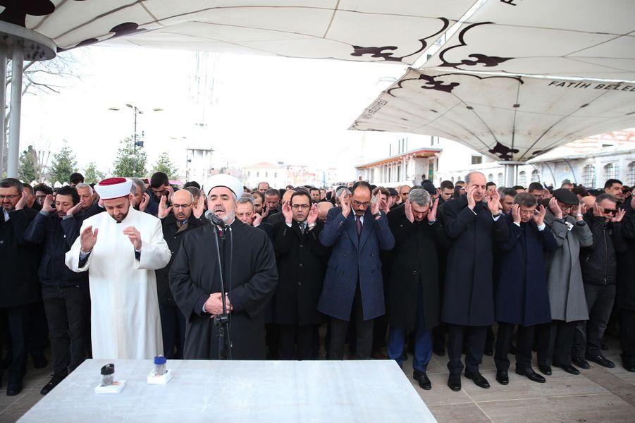 Hommage à Istanbul, en Turquie, après l'attentat commis à Christchurch, en Nouvelle-Zélande.