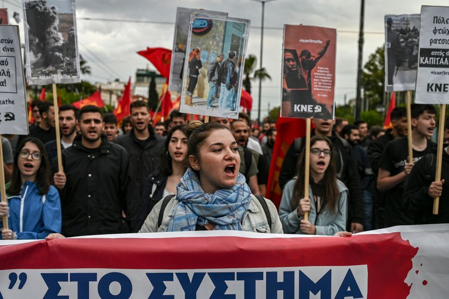 Athènes en Grèce, le 1er juin 2020.