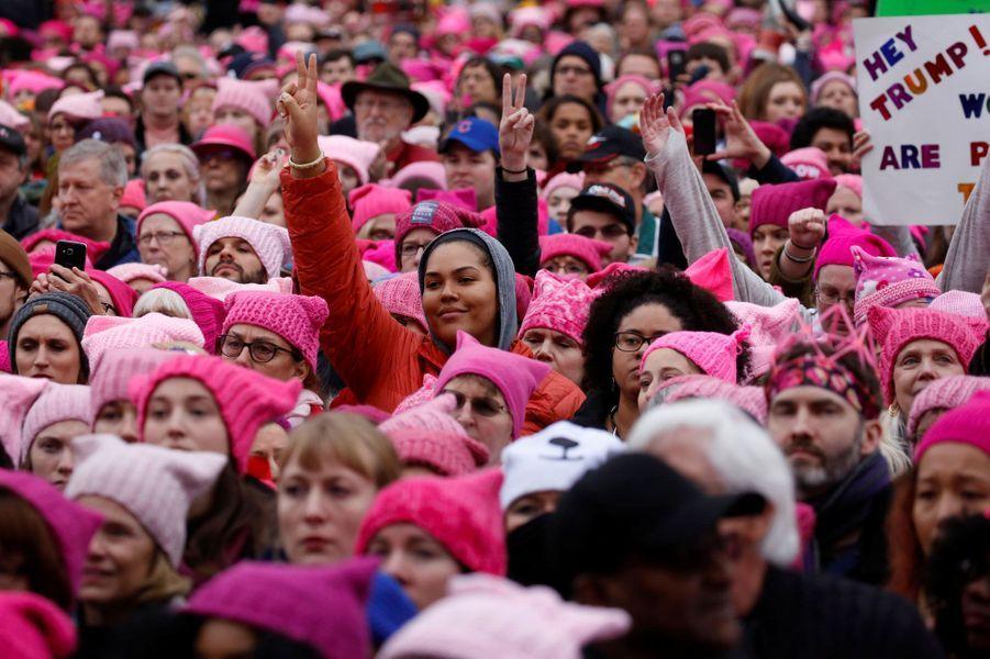 La Women's March à Washington, samedi.