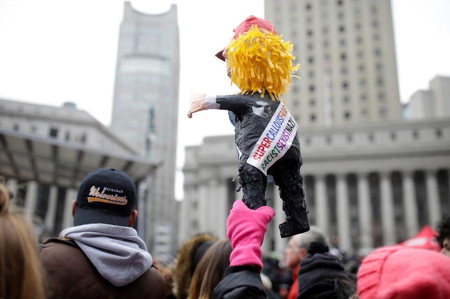 La «marche des femmes» à New York, le 19 janvier 2019.