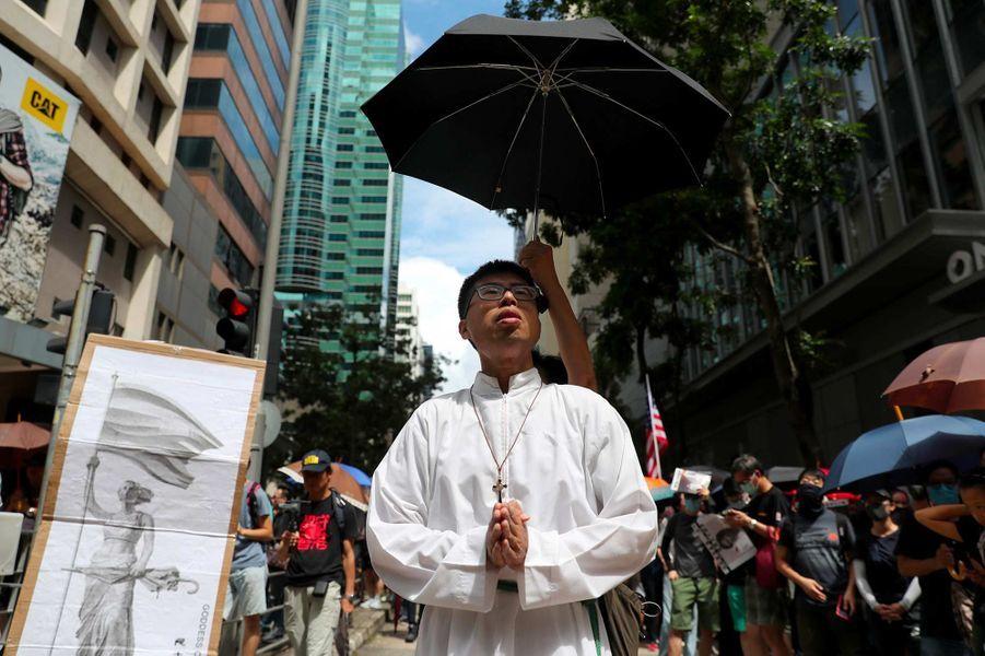 Manifestation à Hong Kong, le 31 août 2019.