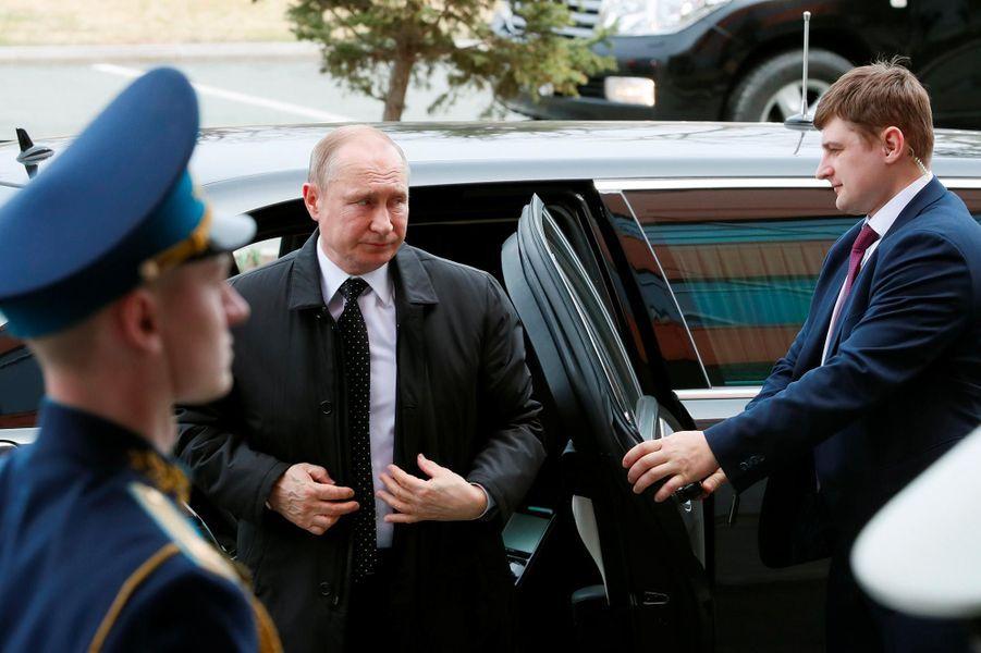 Vladimir Poutine à Vladivostok, en Russie, le 25 avril 2019.