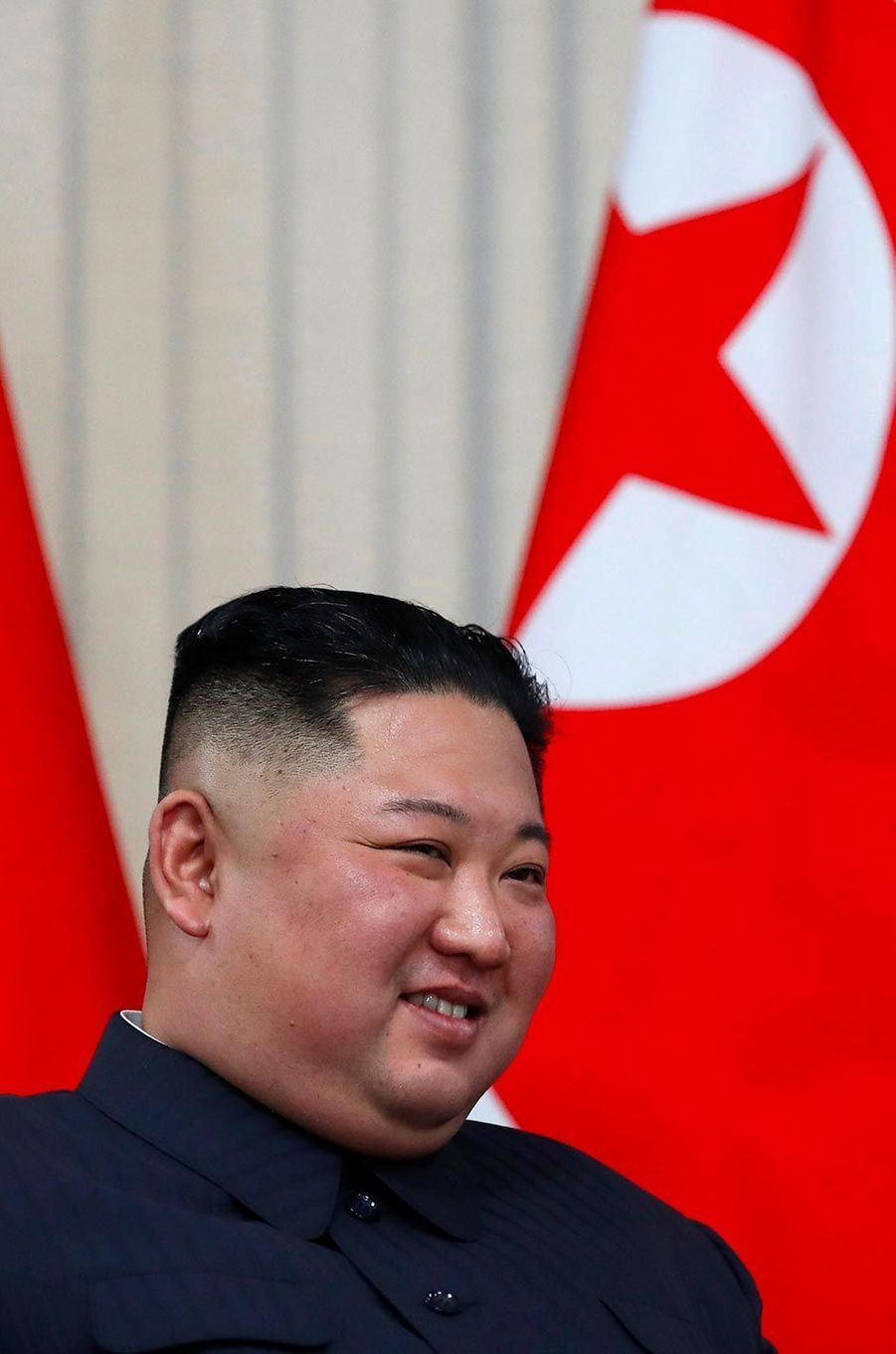 Kim Jong-un à Vladivostok, en Russie, le 25 avril 2019.
