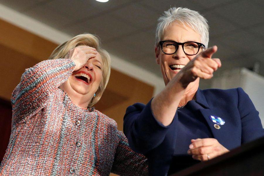 Jamie Lee Curtis et Hillary Clinton