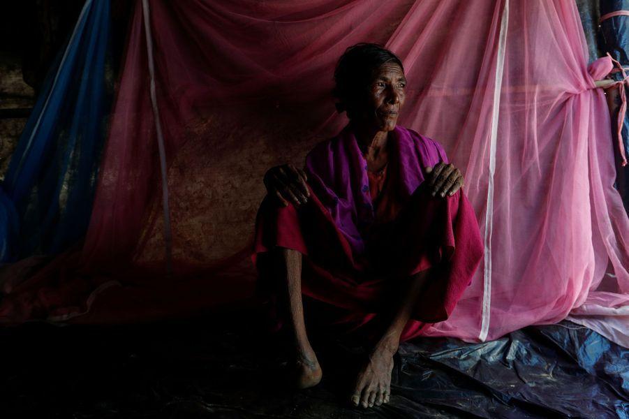 Rohingya àKutupalongau Bangladesh le 14 octobre 2017