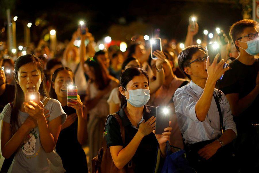 Manifestation à Hong Kong, le 13 septembre 2019.