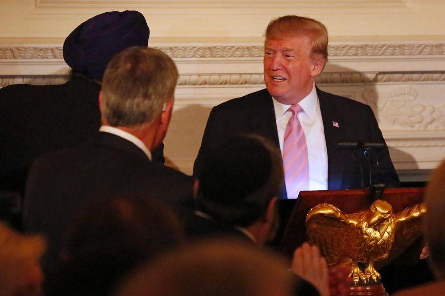 Donald Trump à la Maison-Blanche, le 1er mai 2019.