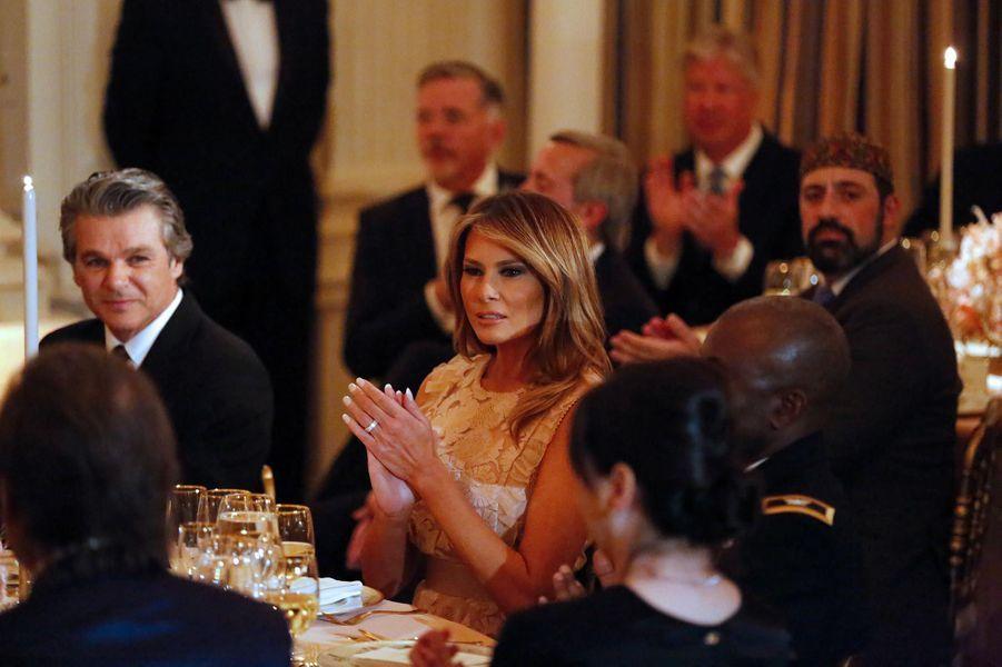Melania Trump à la Maison-Blanche, le 1er mai 2019.