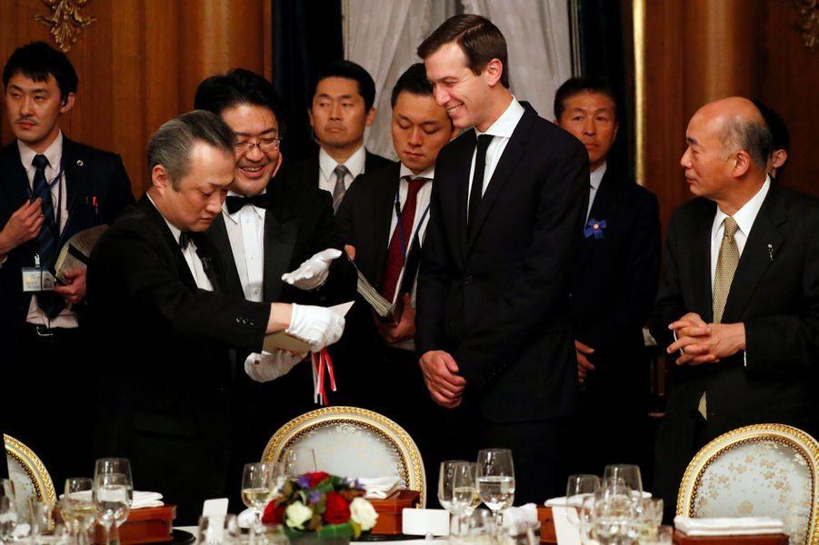 Jared Kushner lors du dîner d'Etat à Tokyo, le 6 novembre 2017.
