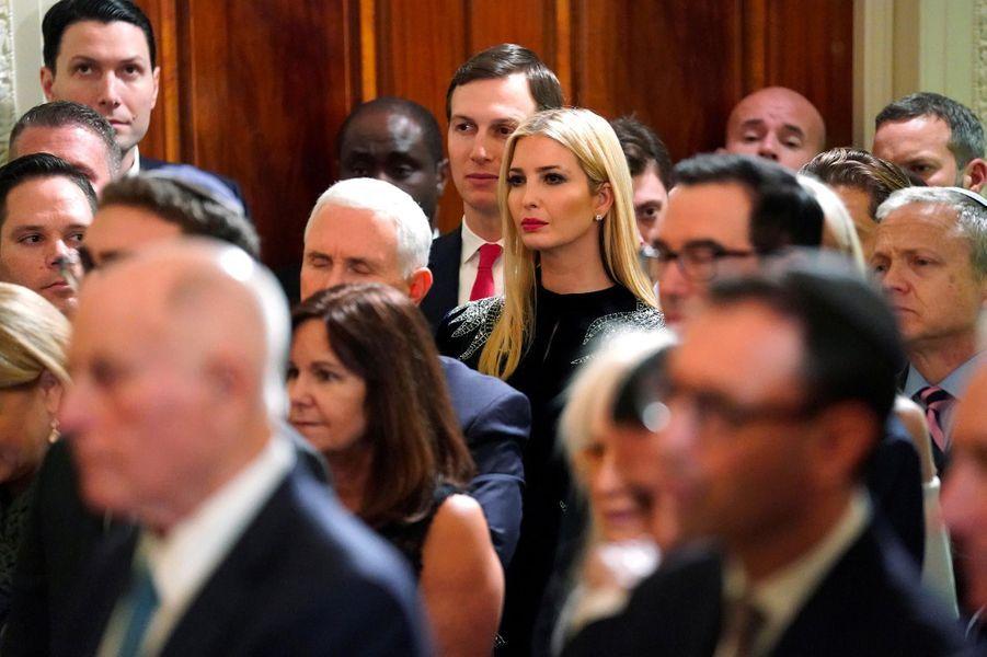 Jared Kushner et Ivanka Trump à la Maison-Blanche, le 6 décembre 2018.