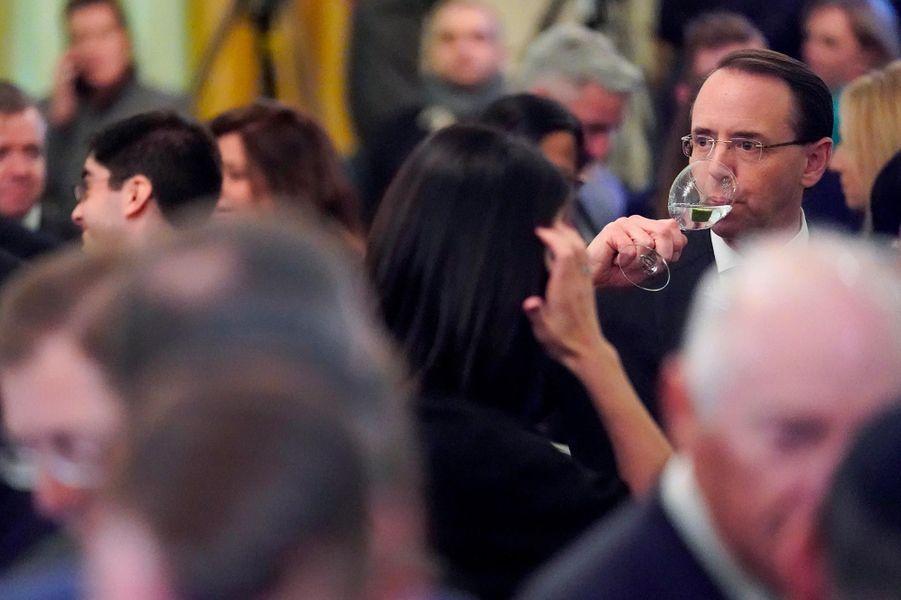 Rod Rosenstein à la Maison-Blanche, le 6 décembre 2018.