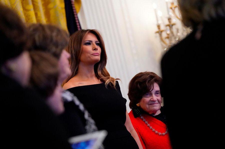 Melania Trump à la Maison-Blanche, le 6 décembre 2018.