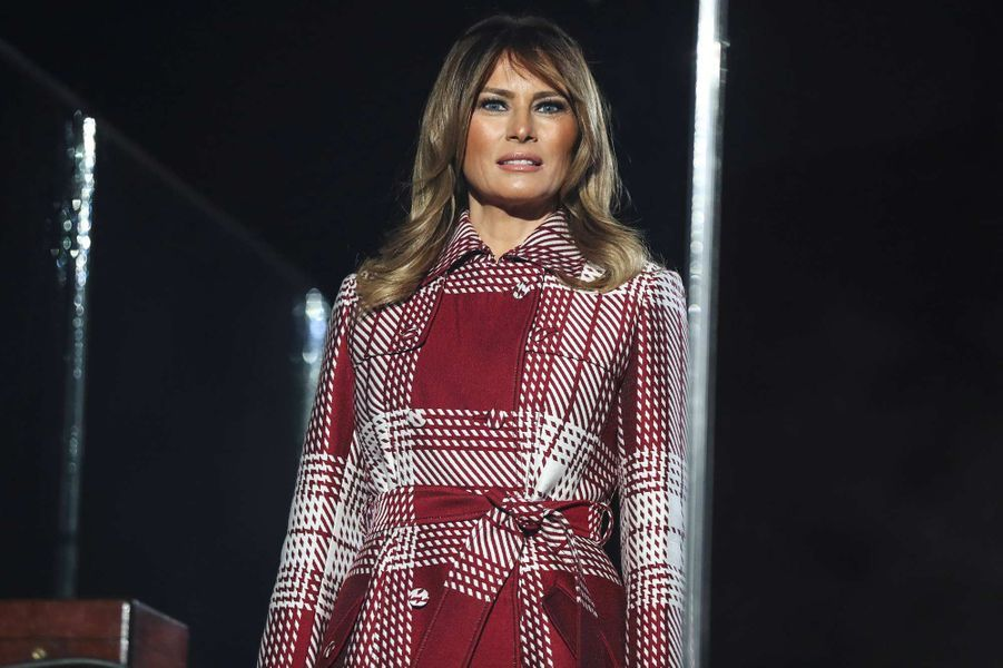 Melania Trump à Washington, le 5 décembre 2019.