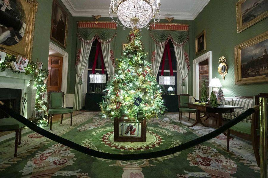 Les décorations de Noël de la Maison-Blanche.
