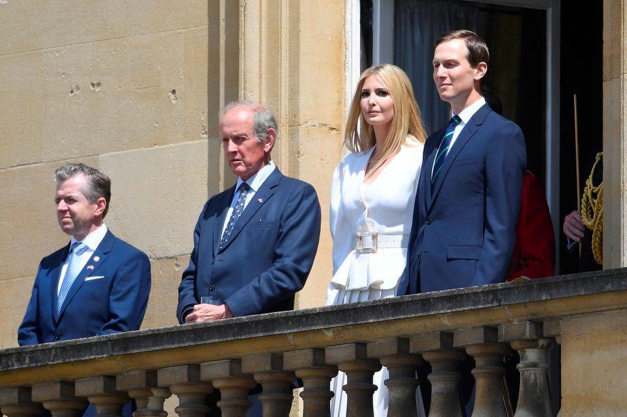 Ivanka Trump et Jared Kushner à Buckingham Palace, le 3 juin 2019.